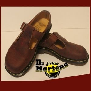 THE ORIGINAL DR MARTENS MARY JANE OXBLOOD SHOES
